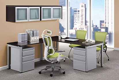Office Source Modern L-Shape Desk