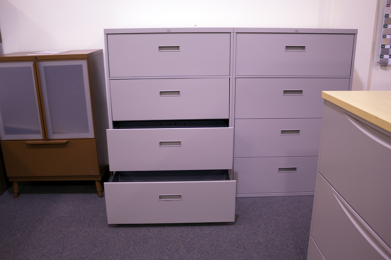 Steelcase Remanufactured 4 Drawer Lateral File Office