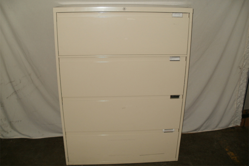 Steelcase 4 Drawer Lateral File