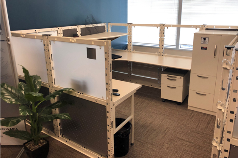 Used Trendway Contrada Raw Workstations