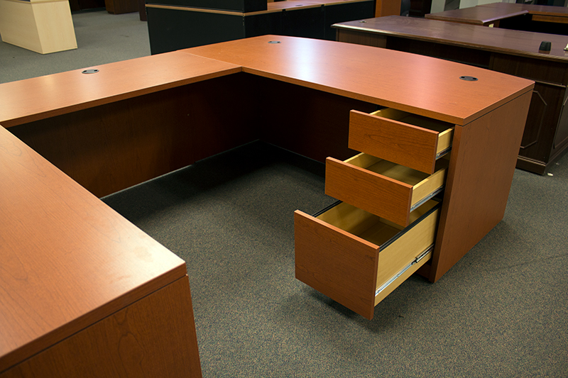 Used Hon U Shaped Desk And Table Office Furniture Warehouse