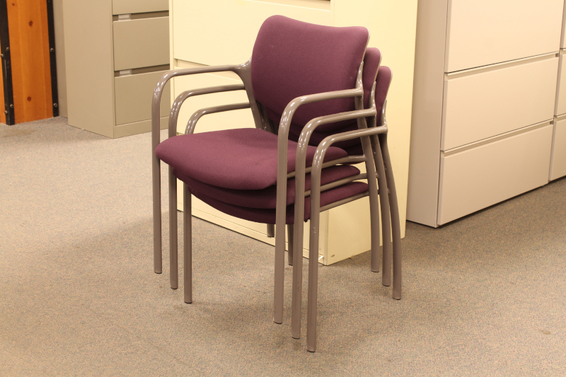 Used Herman Miller Aside Stacking Chairs