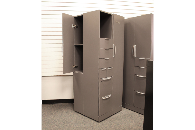 Used Knoll Storage/Wardrobe Combo
