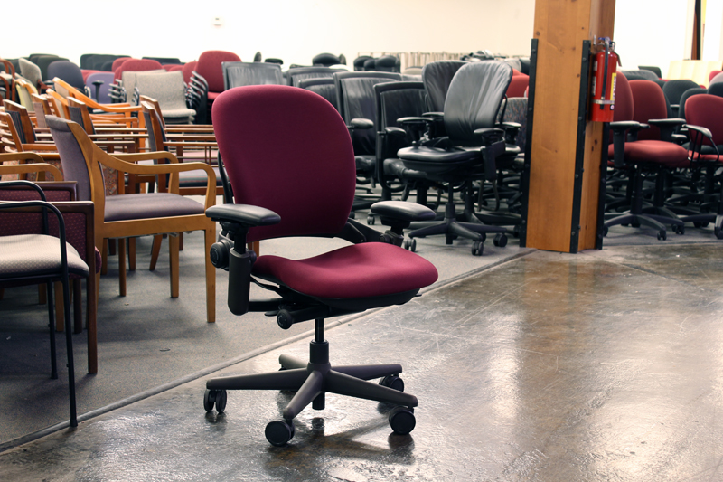 Used Steelcase Leap Task Chair